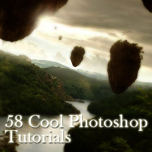 58 Cool Photoshop Tutorials