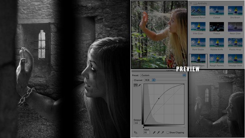 Eerie Photo-Manipulation 'Captive'